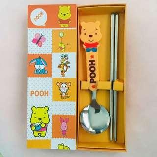 🚚 Doraemon/Winnie the Pooh Utensils