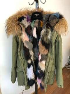 Mr & Mr Italy Fur Parka