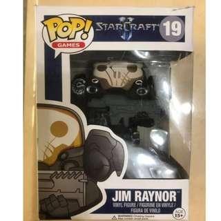 Funko Pop 星海爭霸 StarCraft Jim Raynor 公仔 玩具