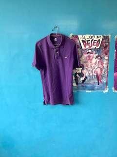 👦🏻Nike polo衫 紫色 刺繡 圖騰小標 M