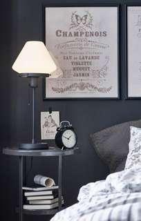 Table lamp with Vintage Pull String