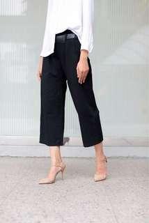 High-Waisted Pants Black (BNIB)