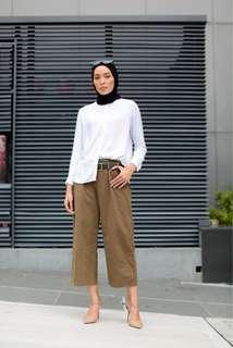 High-waisted Pants Brown (BNIB)