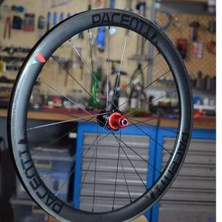 Pacenti USA 50mm Tubeless Carbon Clincher Rotor Rvolover Hubs (Clearance) Usual $2300