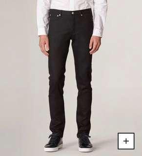 BNWT APC 2019 Petit New Standard Stretch Black Jeans 31