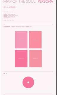 🚚 BTS MAP OF THE SOUL PERSONA