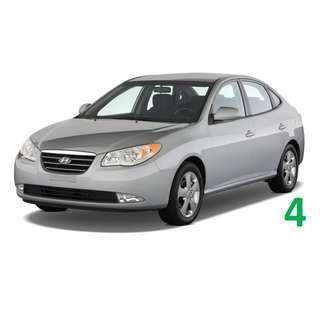 1 Week Contract Hyundai Avante $380