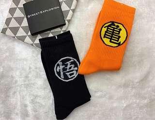 🚚 七龍珠悟空中筒襪長襪男襪女襪情侶襪