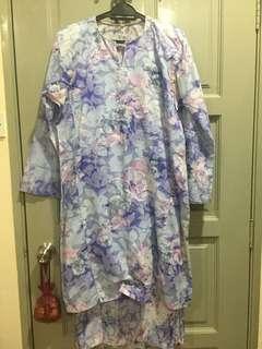 Baju Kurung Cotton - size m