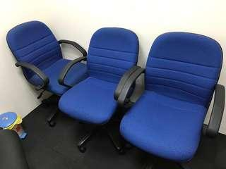 3 office chairs for $20