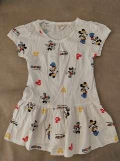 (Free Normal Mail)Used Once Supreme Cotton Baby Girl Dress 2-3yrs