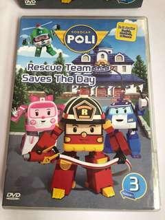 🚚 Robocar poli dvd (season 3)
