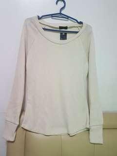 Cream Pullover (new )