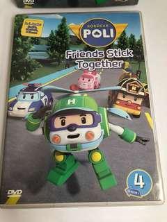 🚚 Robocar poli dvd (season 4)