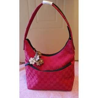 Used authentic GUCCI red bag
