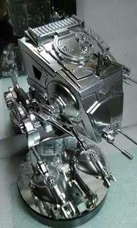 🚚 3.75吋 孩之寶 喬治盧卡斯 星際大戰 at-st 重製 載具 at-st重製 高30