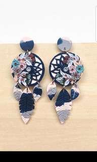 Whynotclay dream catcher earrings