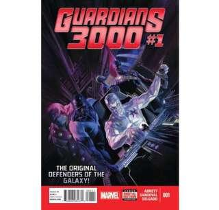 GUARDIANS 3000 #1 (2014) 1st issue!