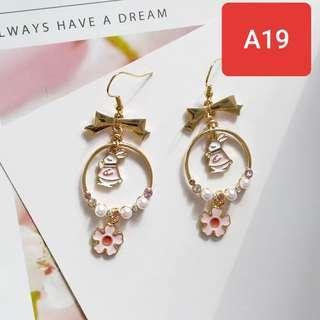 Fashion Earrings Cute korean style earing ready stock