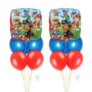 (SAVE $2) Paw Patrol and Friends Balloon Party Package Party Wholesale Singapore