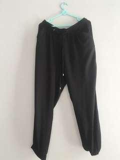 Jogger pants newlook black