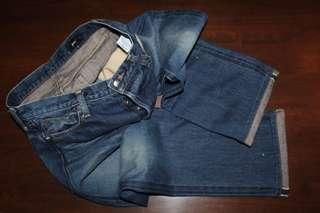 green bowles co raw selvedge