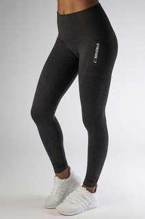 Gymshark Charcoal Seamless Leggings