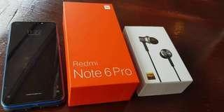 Redmi Note 6 pro complete original