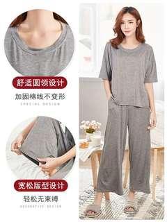 maternity nursing top with pant confinement pajamas pyjamas