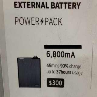 External Battery Power Pack