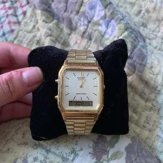 Authentic Casio Gold Dual