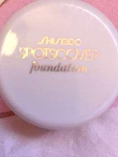 shiseido spot cover foundation