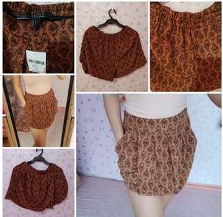 Forever 21 skirt/short BNWT