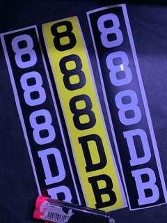 PMD Escooter Fido Dyu Number plate