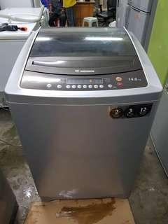 Sharp Washing Machine 14kg recond (top load)