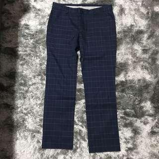 100% Authentic AT-20 Slimfit Checked Pants👖