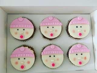 🚚 Gender Reveal Cupcakes