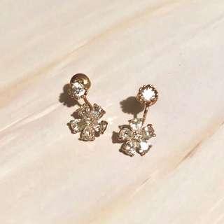 Flower Earrings 花花 耳環