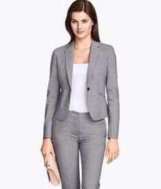 H&M Blazer Grey Coat