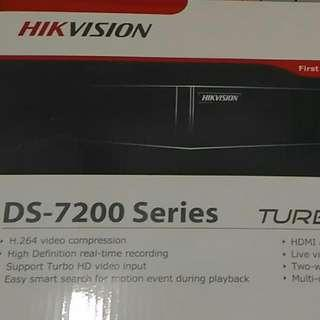 香港行貨閉路電視CCTV DVR HIKVISION DS-7200系列