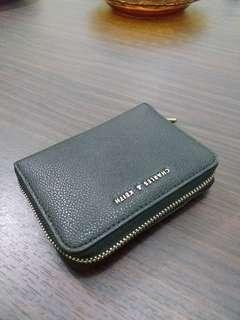 Square zip wallet charles and keith original store