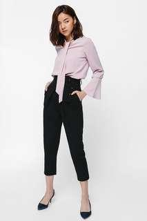 Prachelle Belted Cropped Pants