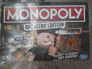 Monopoly board game (Cheaters Edition)
