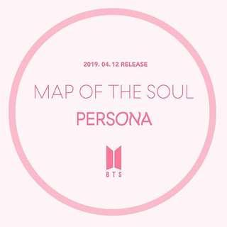 🚚 BTS Map of the Soul Persona Album PO