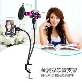 Microphone Stand + Phone Stand