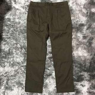 100% Authentic AT-20 Low Crotched Olive Green Pants👖