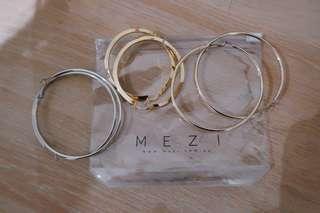Hoop earrings bundle