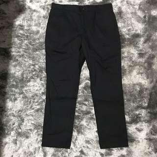 100% Authentic AT-20 Low Crotched Black Pants👖