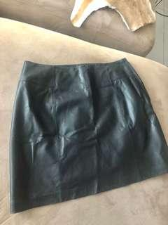 Portman's leather skirt - size 12