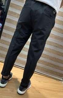 2019 Fred Perry 男款 9分褲 黑色 (日本版)